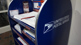 New packaging display at the United States Postal Service | by Aranami