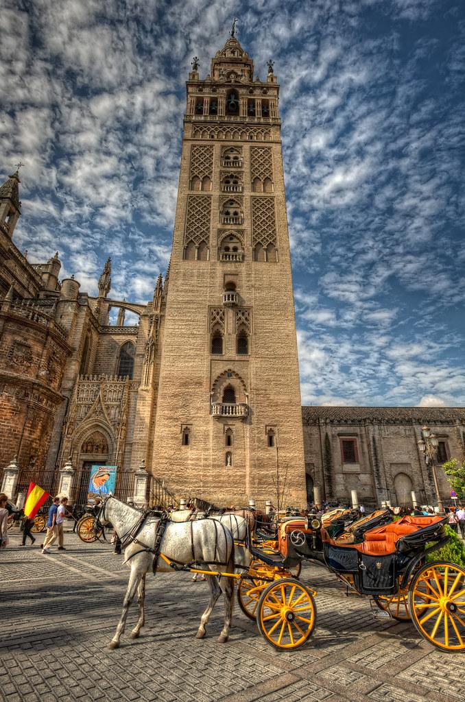 Giralda, Cathedral of Seville – Catedral de Sevilla, Spain…  Flickr