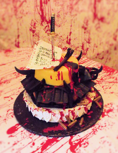 kill bill cake 1 | by Cake Rhapsody