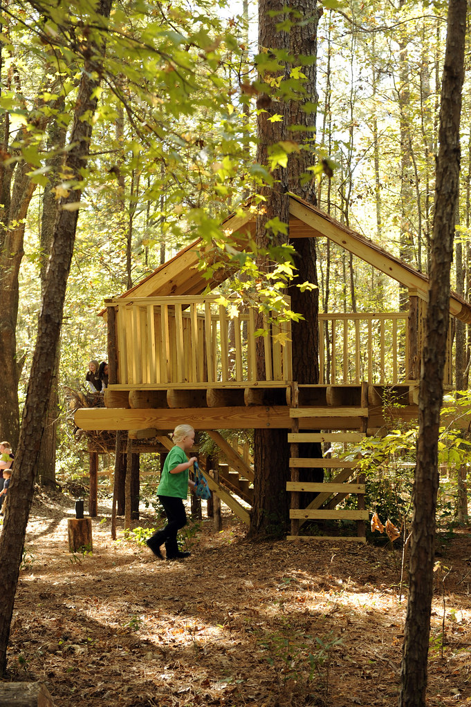 how to build a treehouse in the forest