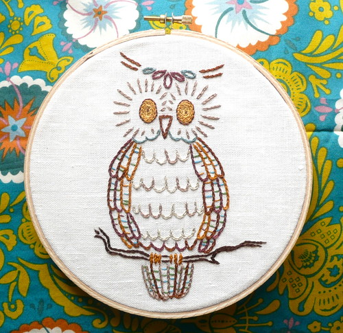 Owl Embroidery | by IamSusie