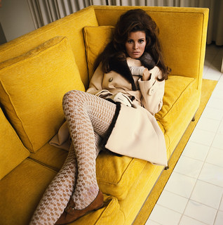 Raquel Welch on the Couch | by The Cardboard America Archives