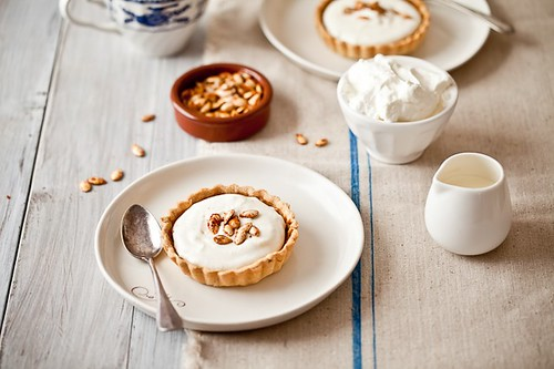 Bourbon Pumpkin Pie | by tartelette