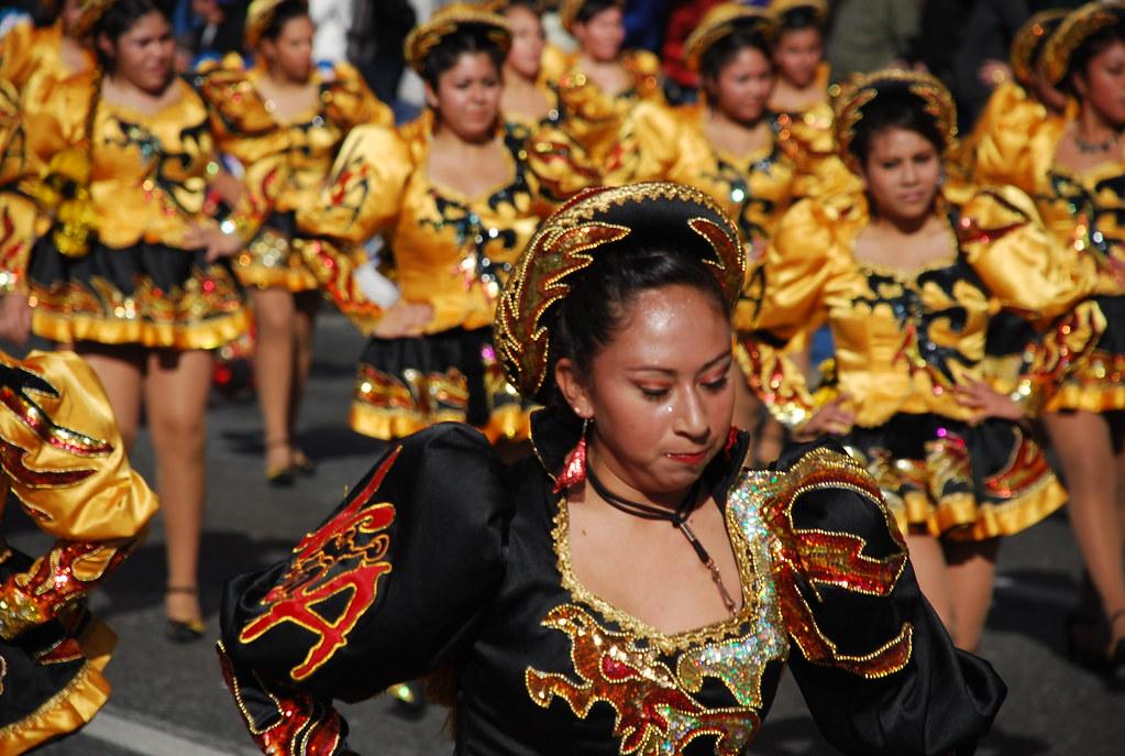 Bolivian dance caporales