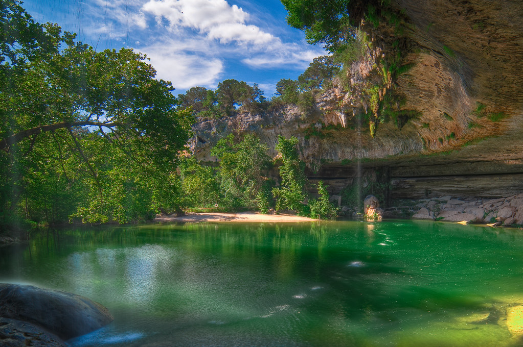 Hamilton Pool Located Just A Few Kilometers Away From