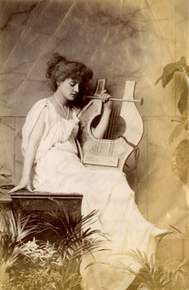 Mrs Langtry with Lyre | by The National Archives UK