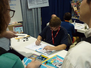 Tim Hensley - Fantagraphics at Comic-Con 2010 | by fantagraphics
