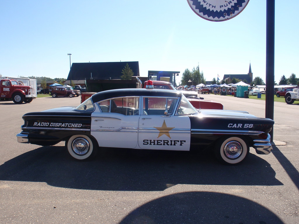 old biscayne sheriff car i didnt look but i believe chevy flickr. Black Bedroom Furniture Sets. Home Design Ideas