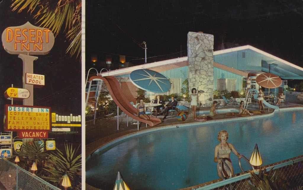 Desert Inn - 1600 South Harbor Boulevard, Anaheim, California U.S.A. - 1968