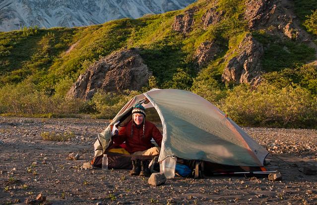 Denali National Park Alaska Backpack trip on the Mt Eielson Loop
