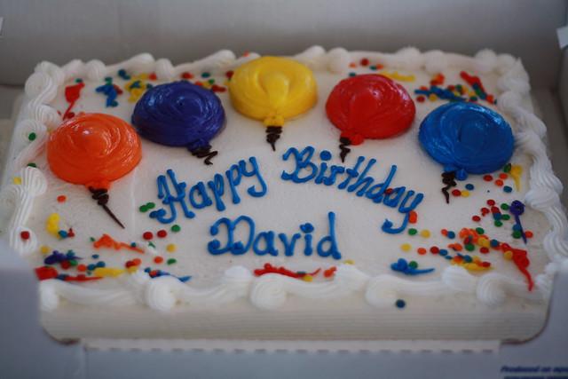 Happy Birthday Davy Birthday Cake