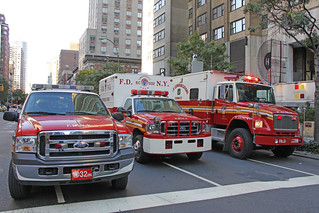 A Five-Alarm Fire Destroyed Two Popular Midtown Manhattan Restaurant Injuring 18 people, Including 15 Firefighter's On Friday Morning September 10, 2010 | by ses7