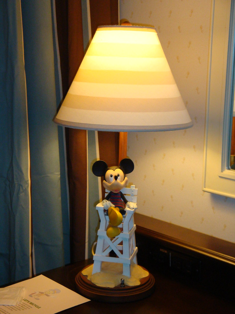 ... Disney Beach Club Hotel   Mickey Lamp | By Mimmis.olsson