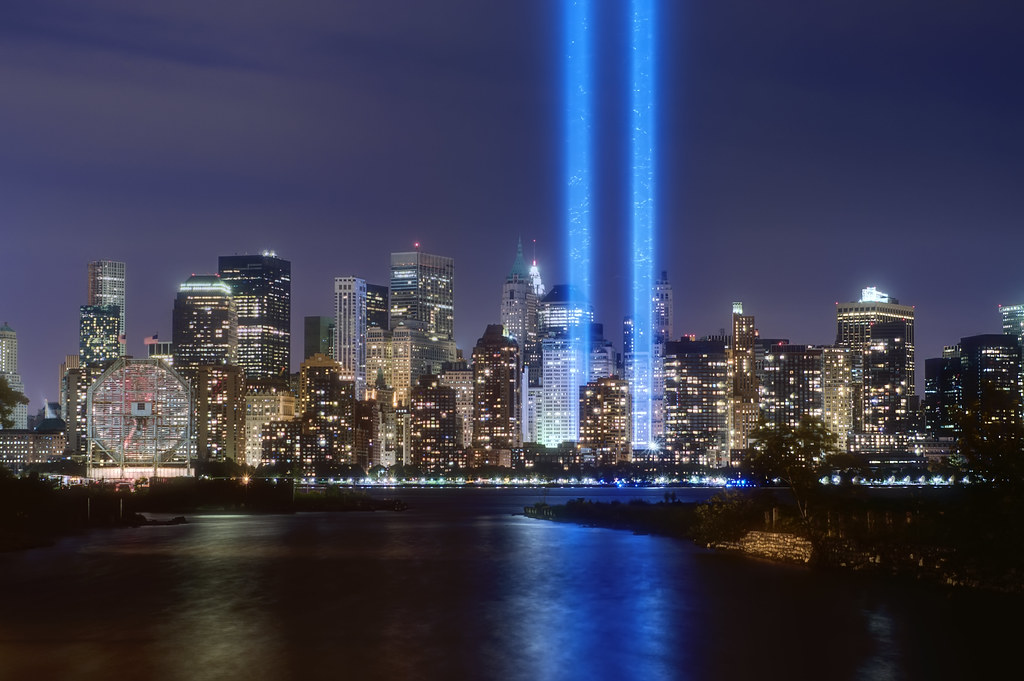 Tribute in Light   © 2010 Steve Kelley New York City (NYC ...