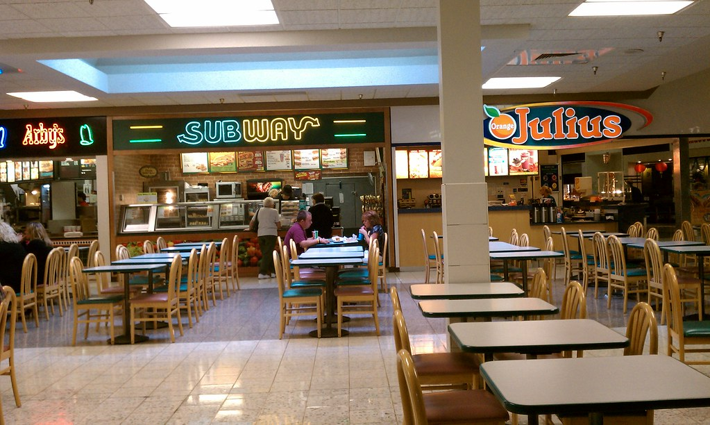 Southern Hills Mall Sioux City Iowa Subway Arby S