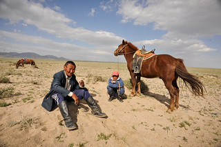 Mongolian Visitors | by goingslowly