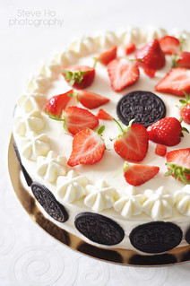 oreo strawberry cake | by *steveH
