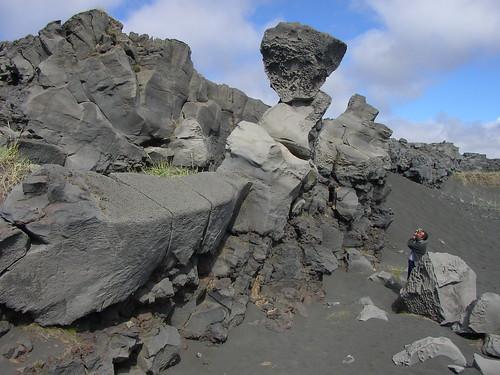 Erosión alveolar - Miðlína (Islandia) - 03