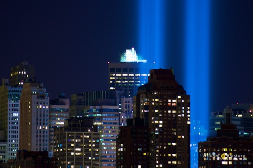 9/11 Tribute in Light - 9/11/2010 | by Will Boisture