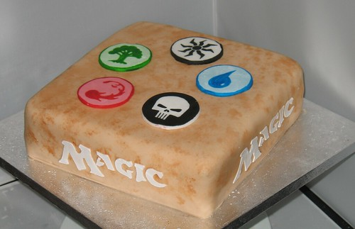 Magic The Gathering Cake Bernard Mckeaveney Flickr
