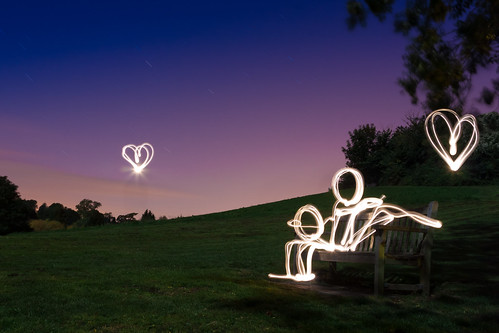 Love At First Light (Light Painting), Kent | by flatworldsedge