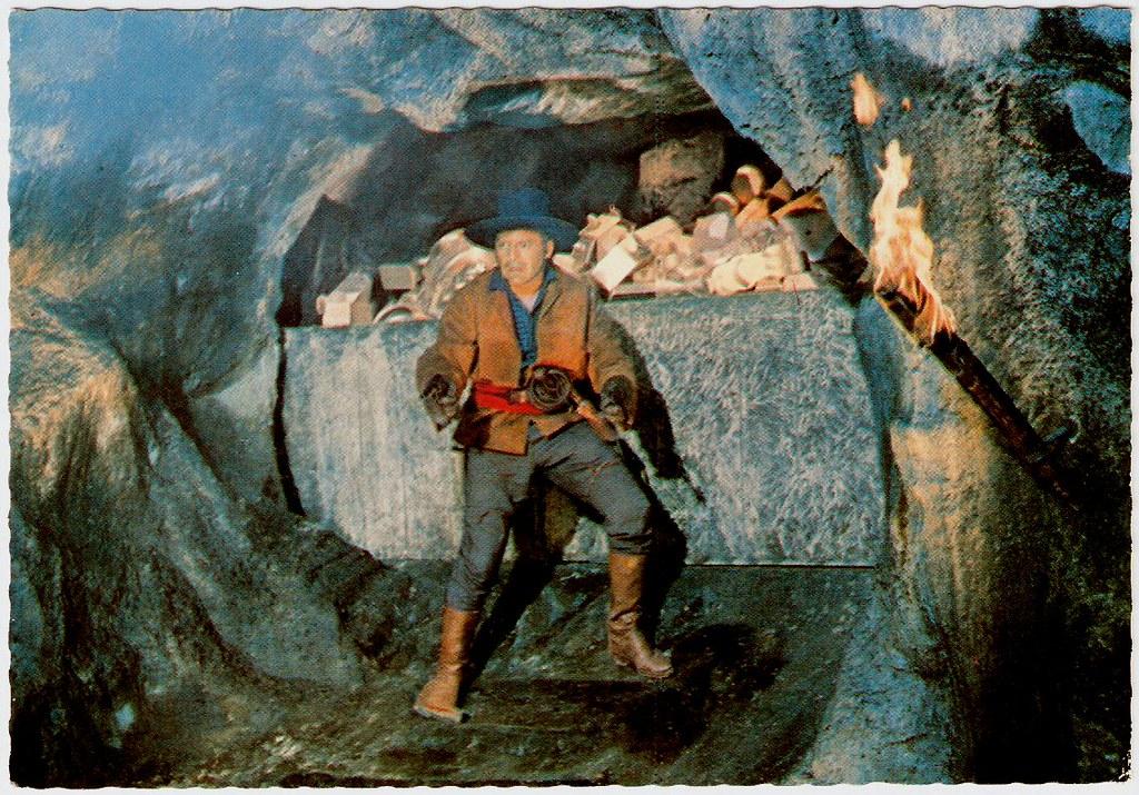 Herbert lom der schatz im silbersee german postcard no for Der schatz im silbersee