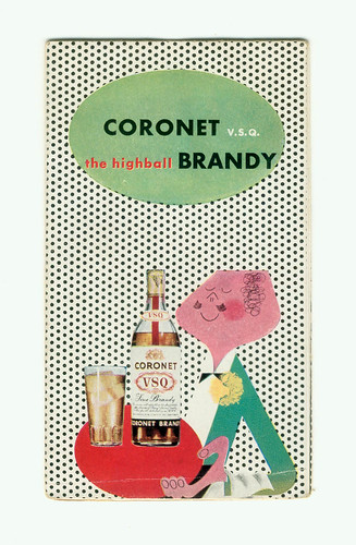 coronet brandy pamphlet | by projectobjectshop