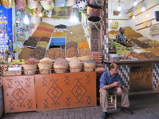 spice markets in Morocco | by Aromahead Institute