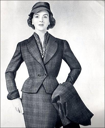 the 1950swinter fashion 1954 mo flickr
