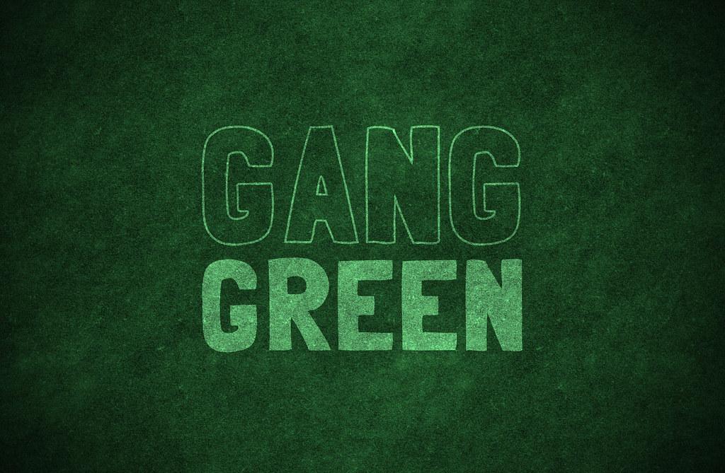 Gang Green Wallpaper