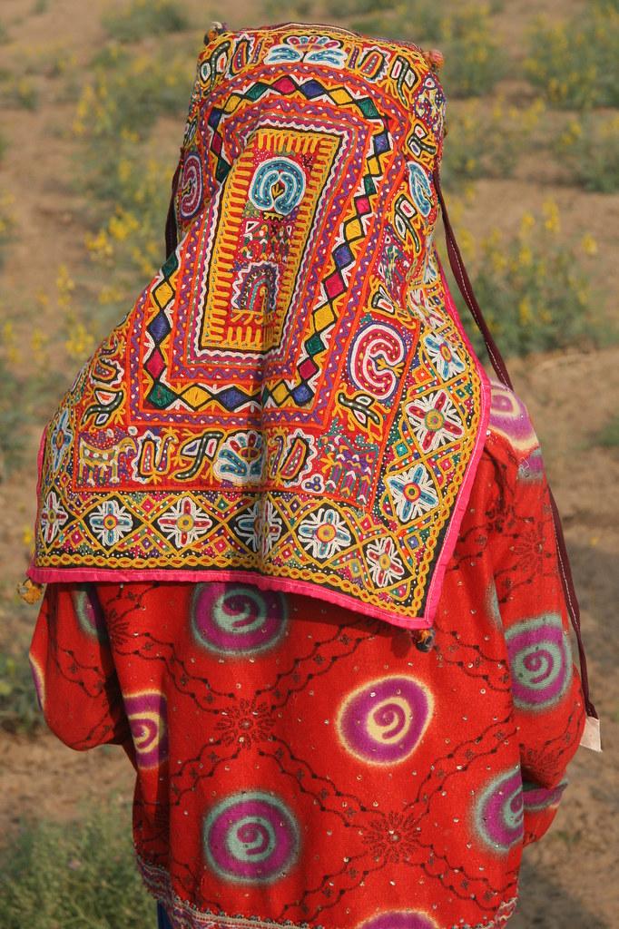 Asia India Gujarat Rabari Girl Rabaris Do Have