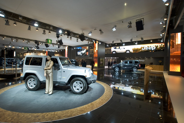 jeep stand 2010 paris motor show by dave pinter flickr photo. Cars Review. Best American Auto & Cars Review