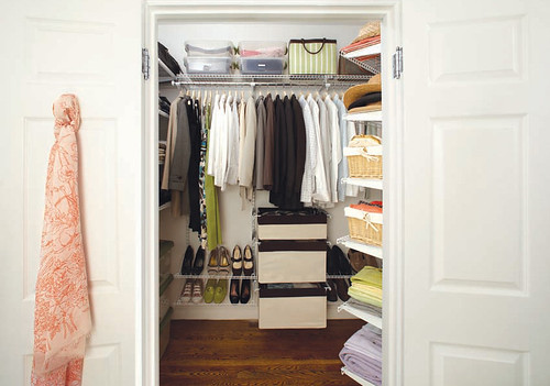 Rubbermaid HomeFree series closet system | by Rubbermaid Products