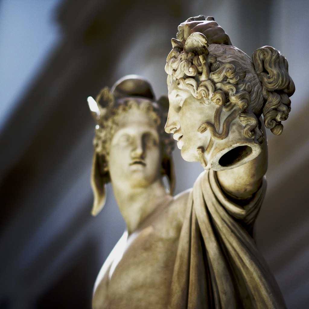 The power of Tragedy - CLCV 205-02: Greek & Roman ...  |Perseus With The Head Of Medusa Painting