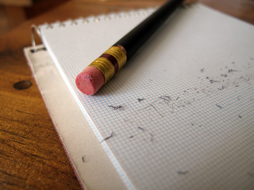 Pencil Eraser + Paper Pad | by mujalifah