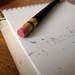 Pencil Eraser + Paper Pad