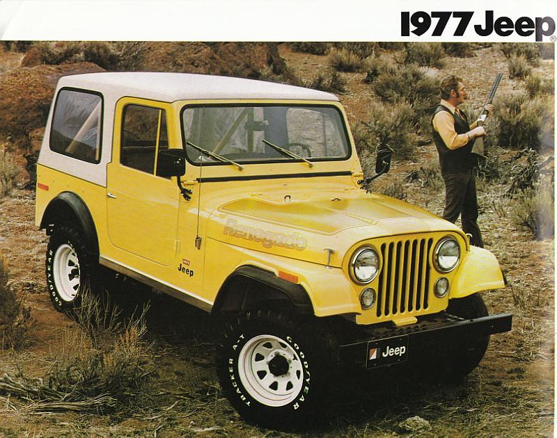 1977 Jeep CJ-7 Renegade | 1977 Jeep Sales Brochure | Flickr