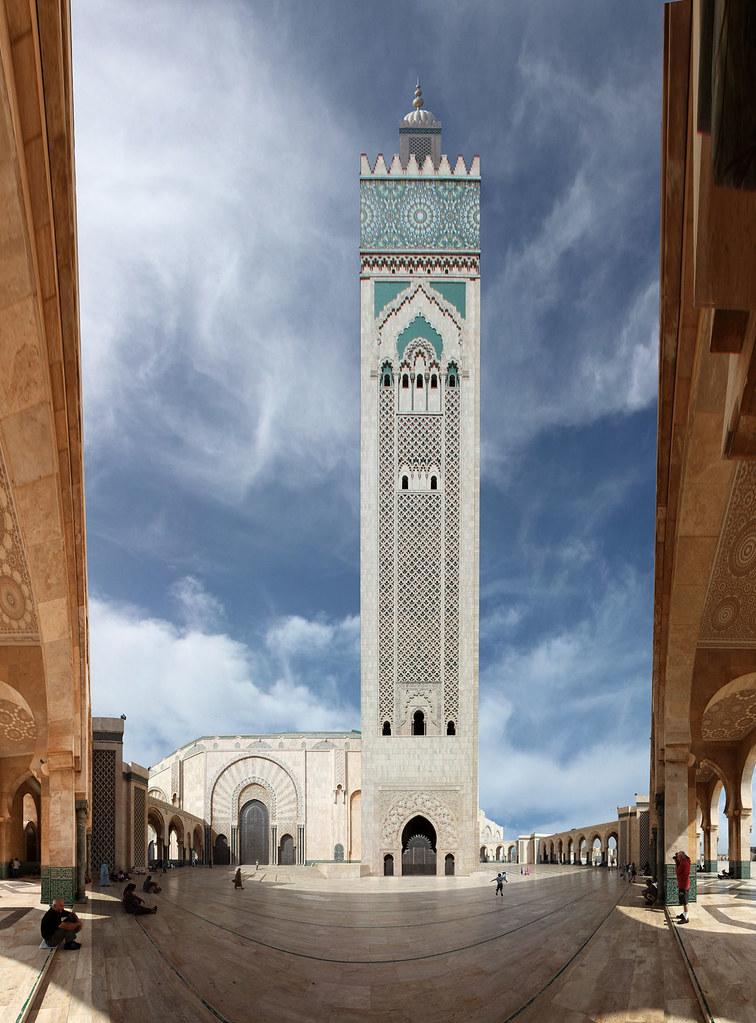 Merci votre majest mosqu e hassan ii casablanca maroc for Mosquee hassan 2 architecture
