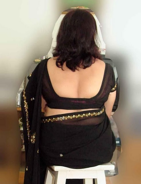 deep-cut blouse on a delicious back | Flickr - Photo Sharing!