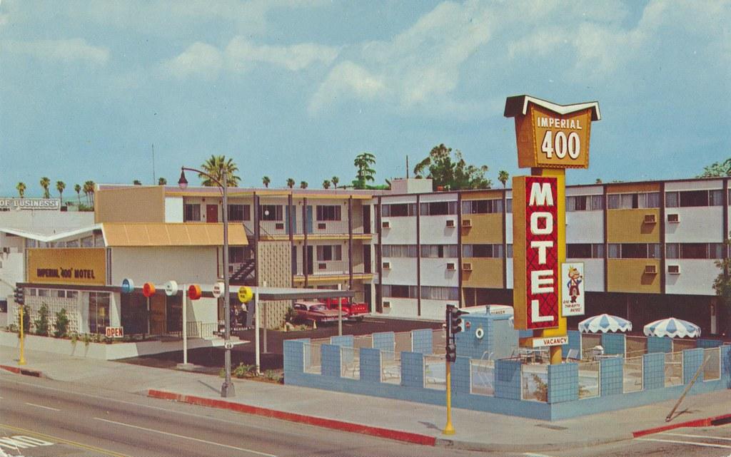 Imperial '400' Motel - Pasadena, California