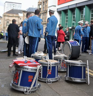drums awaiting the march | by onedayalive