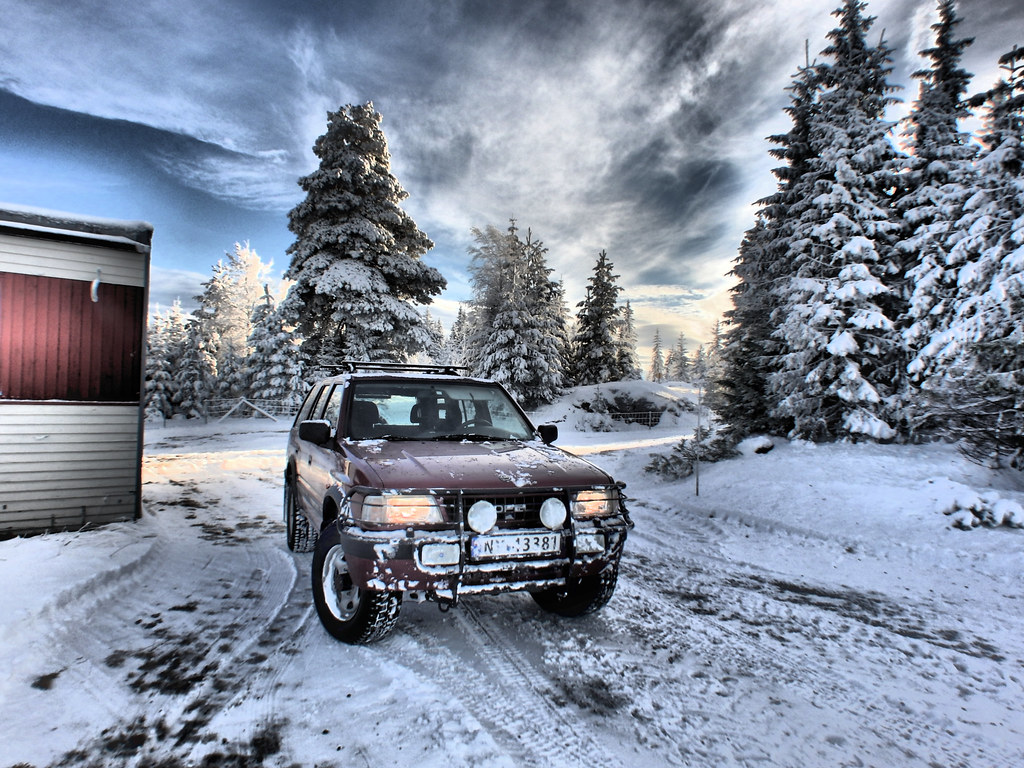 opel frontera in snow hdr 1997 opel frontera 4x4 2 5tds. Black Bedroom Furniture Sets. Home Design Ideas