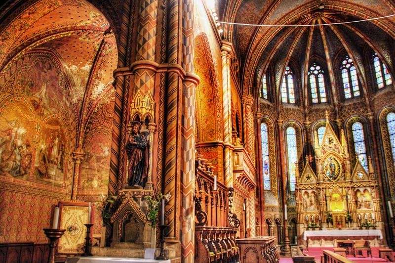 Matias Church Interior Budapest Interior De La Iglesia D