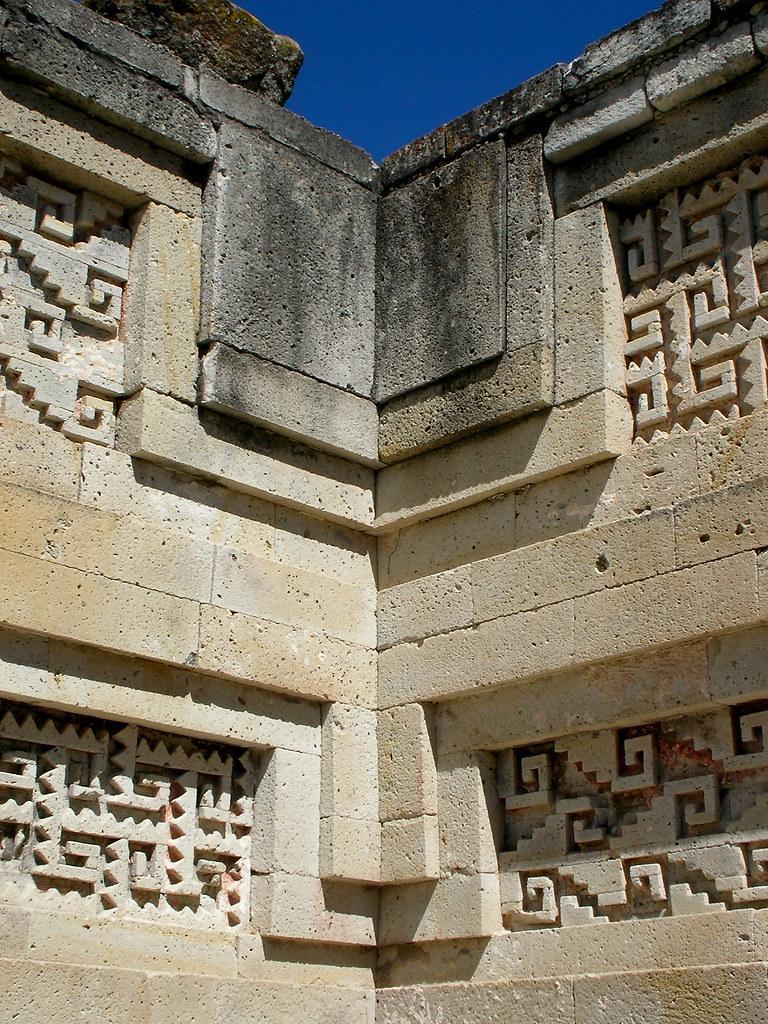 zapotec architecture  mitla  mexico