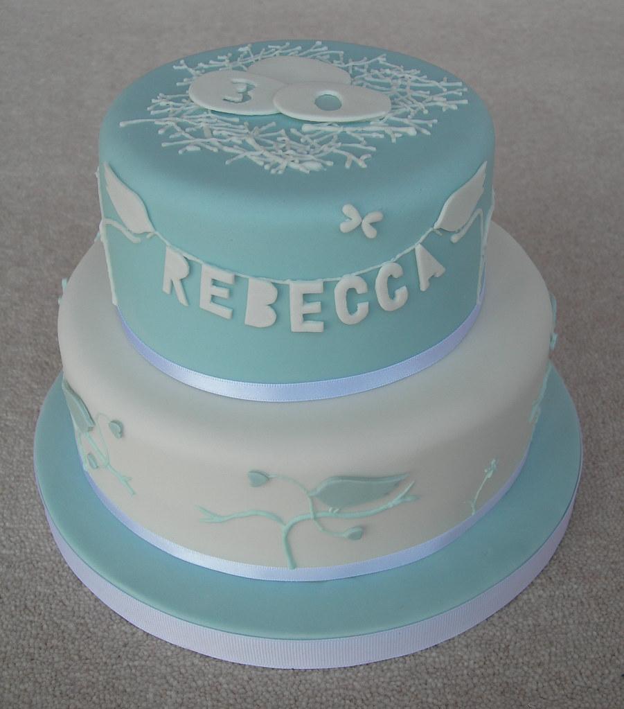 Birthday Cake Inspired By The Artwork Of Rob Ryan Debbie Curtis