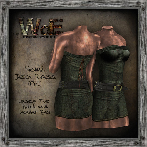 Nomi Jean Dress (Oil) | by :. WoE .: