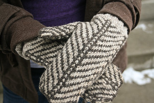 Strago Mittens by BrooklynTweed | by add_knitter