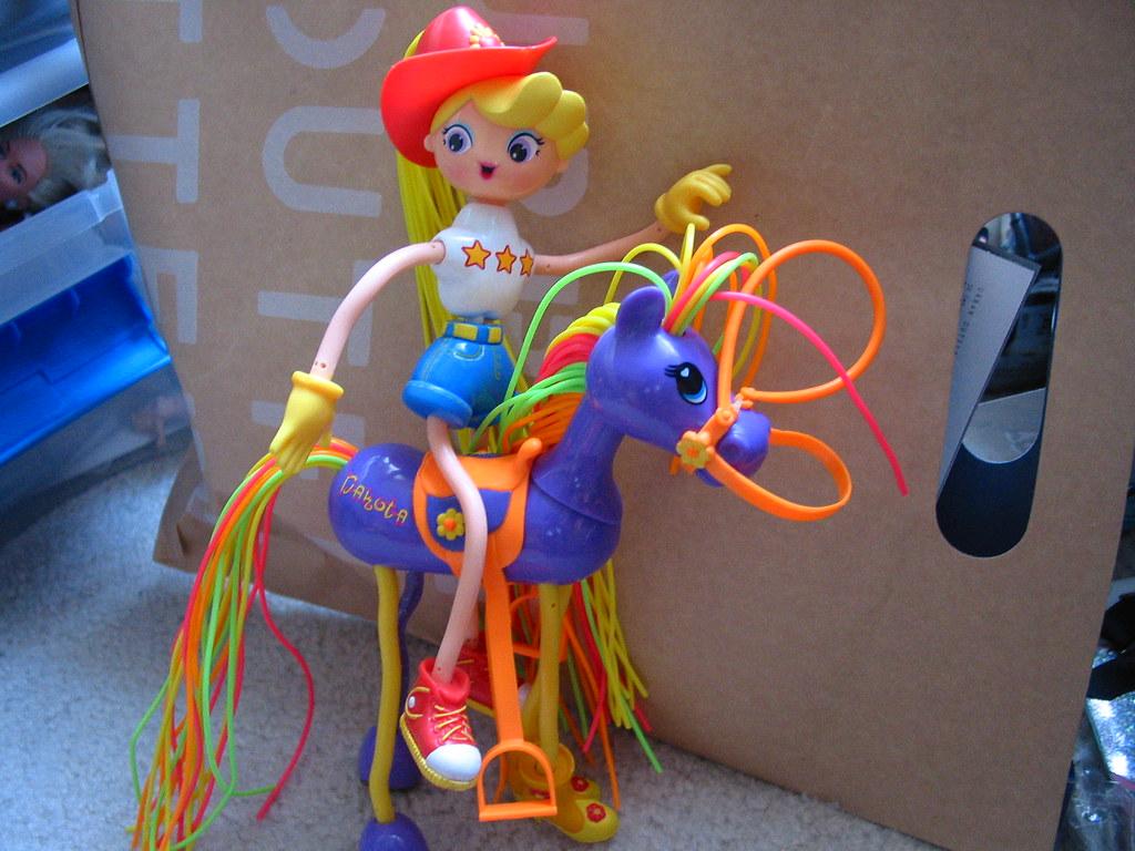 Betty Spaghetti Toys : Betty spaghetty and dakota the horse panda flickr