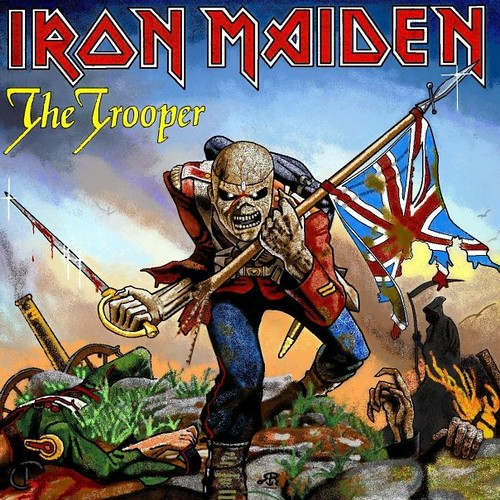 Iron Maiden, The Trooper - Charlotte Cox, UK | Flickr - Photo Sharing!: https://www.flickr.com/photos/52394503@N02/4831157877