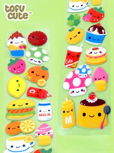 Super Long Kawaii Food Sticker Sheet | It's so long that we ...